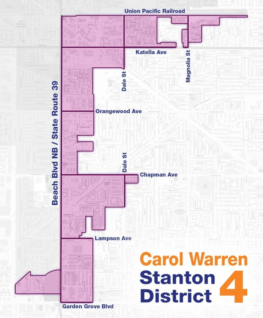 Stanton District 4 Map
